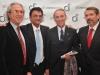 Cristian Mazza, Alejandro Condomi Alcorta y Hugo Magonza