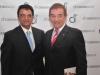 Cristian Mazza y Jorge Beitia
