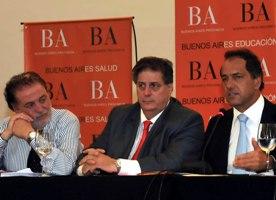 González García; Collia y Scioli1