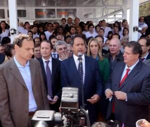 Inauguración UPA de Los Hornos