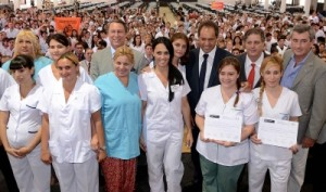 Egreso de las 1000 enfermeras