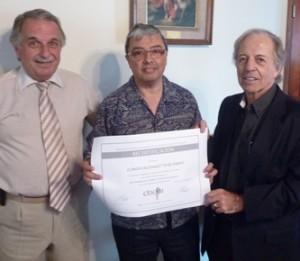 Jorge Lloves, Carlos Lopez (clinica privada Belgrano) y Hector Vazzano