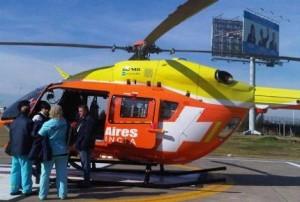 helicoptero sanitario