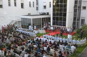 Ceremonia Graduación Enfermeros