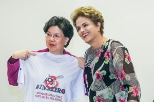 Brasília - DF, 23/02/2016. Presidenta Dilma Rousseff durante encontro com a senhora Margaret Chan, Diretora-Geral da Organização Mundial da Saúde-OMS no Palácio do Planalto. Foto: Roberto Stuckert Filho/PR