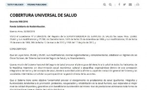 decreto cobertura universal