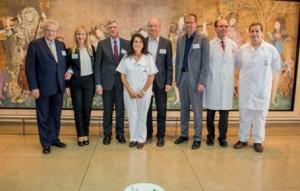 Fresenius Favaloro recibe la visita de Lutz Stroppe Sec Salud Alemania2
