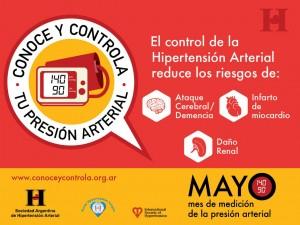 Campaña Conoce y Controla tu presión arterial