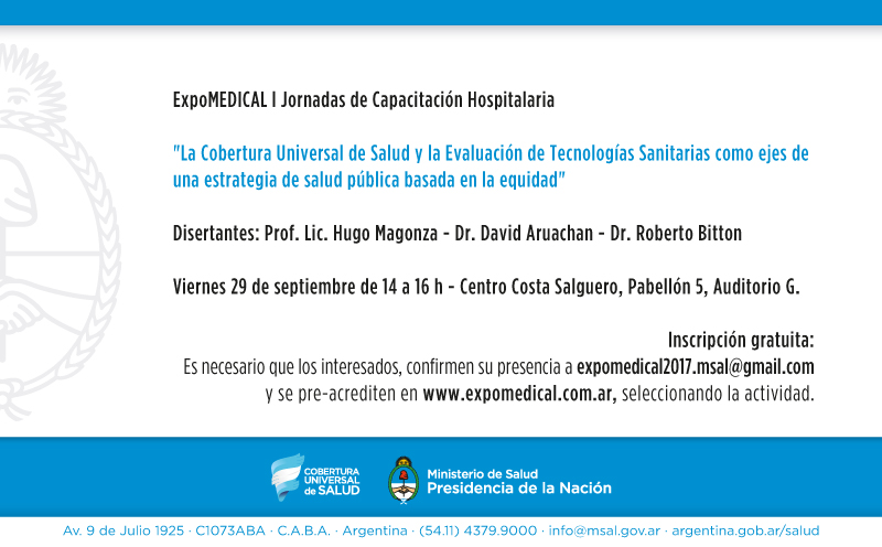ExpoMEDICAL 2017 - invitación