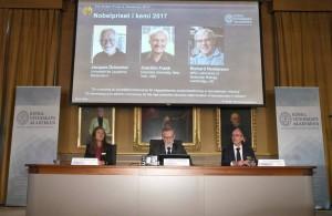 Anuncio premio NObel de Química