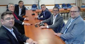 Reunión COSSPRA y Dip. Yedlin