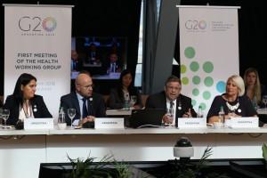 Rubinstein reunión G20 salud