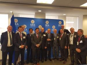 El grupo en la OEA