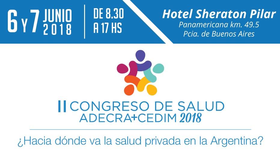 Flyer II Congreso de Salud ADECRA CEDIM (2)