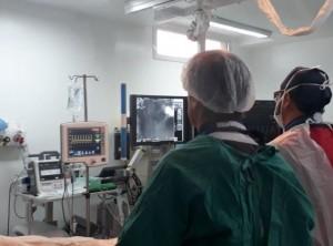 primer angioplastia en hospital san martin