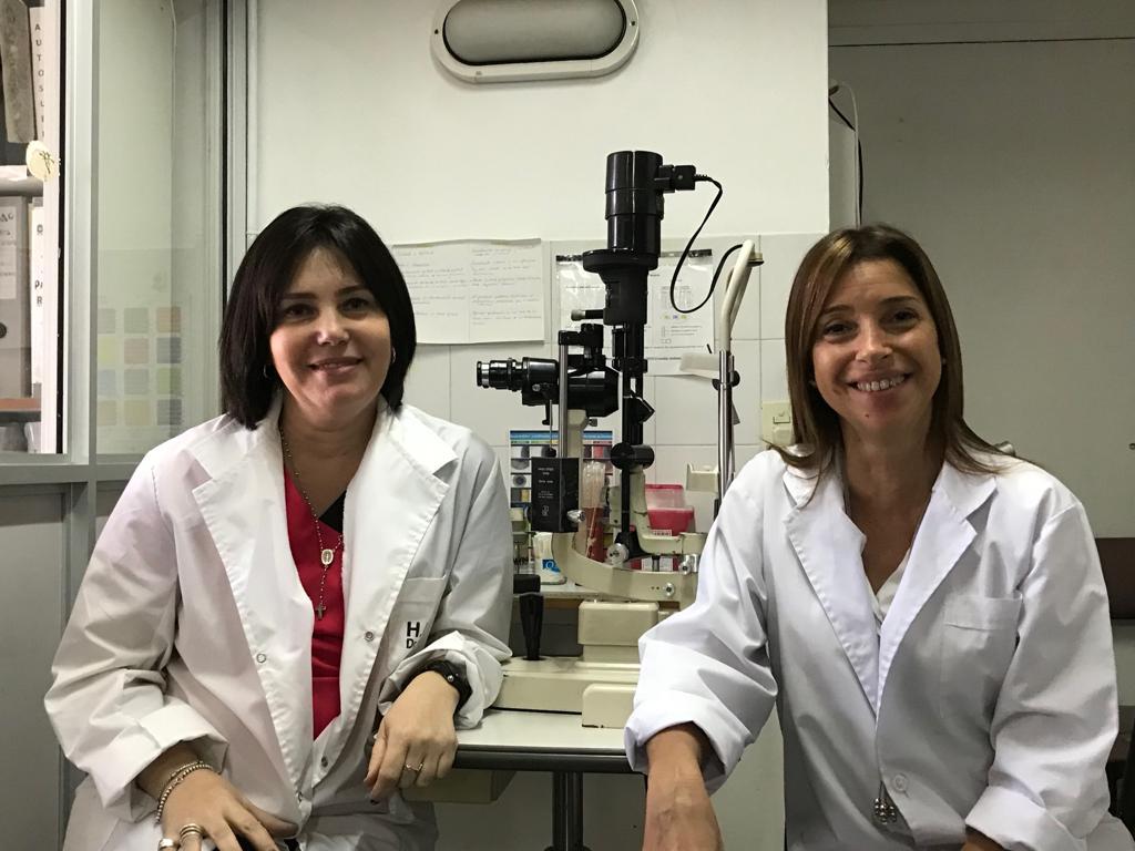 oftalmologa del hospital Rossi