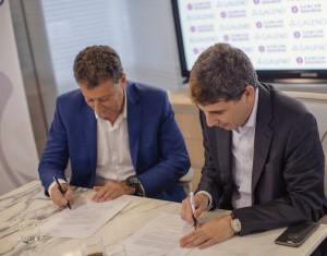 Fraomeni Simón firma del acuerdo LAD