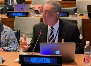 Cassinotti en la ONU