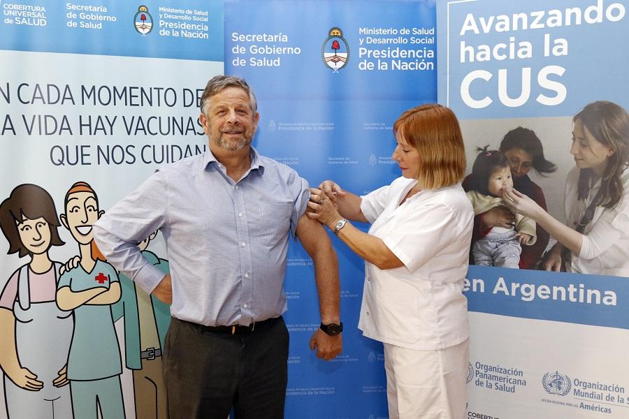 Lanzamiento estrategia de vacunación antigripal