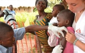 vacunas en Congo contra el sarampiòn