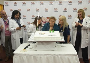 cumpleaños 32 - torta