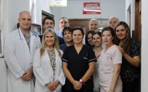 Equipo de la Unidad de Trasplante Renal del CRAI Sur del Cucaiba Htal San Martín