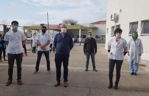 Nuevas autoridades hospital Gutierrez La Plata