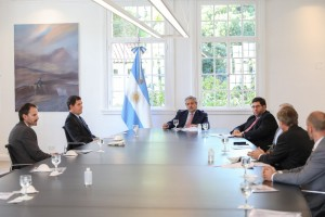 Reunión de Caeme con Fernández