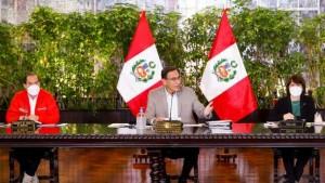 Peru-Consejo de Ministros