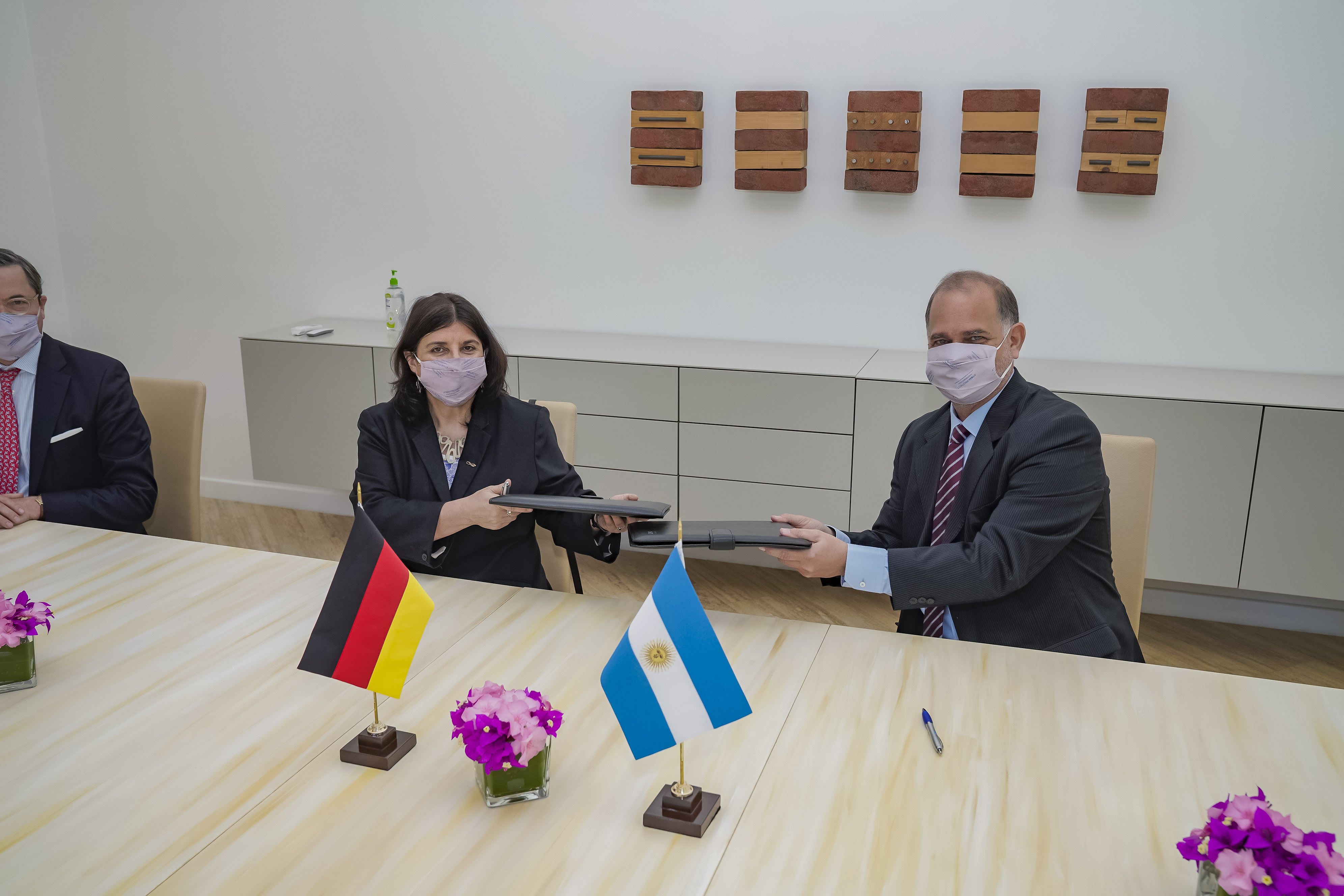 Ana María Franchi y Cristian von Schulz Hausmann