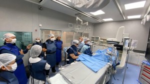 Angiógrafo del hospital provincial Presidente Perón de Avellaneda