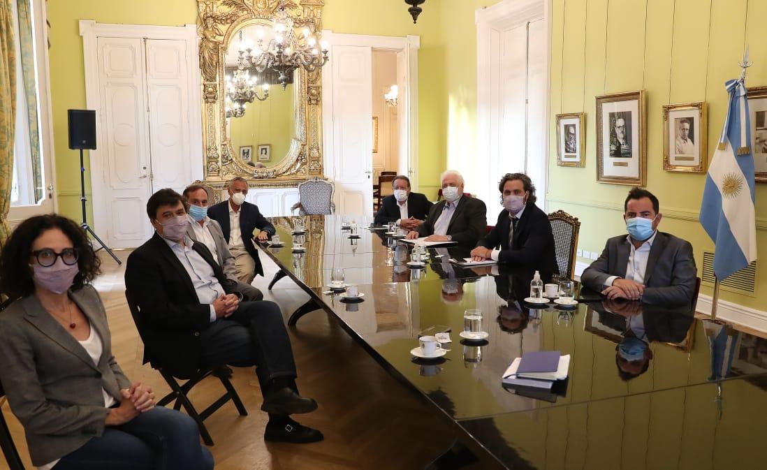 reunion gobierno prestadores