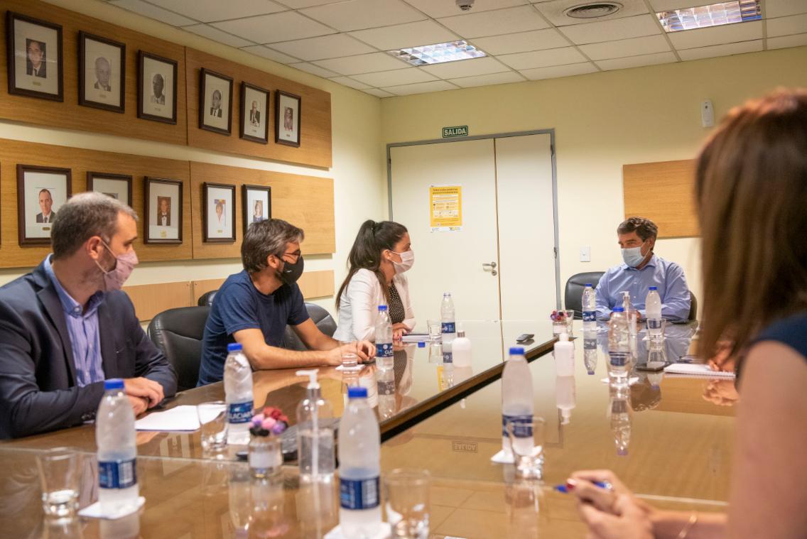Luana Volnovich se reunió con Fernán Quirós 2