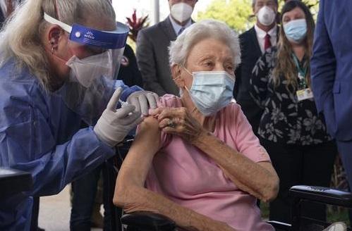 vacunacion en Estados Unidos