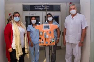 equipo soporte renal