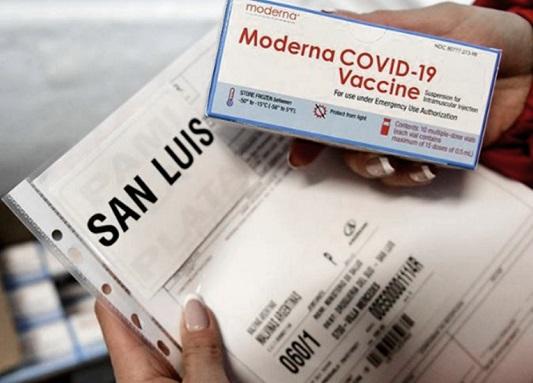 Vacunacion con Moderna