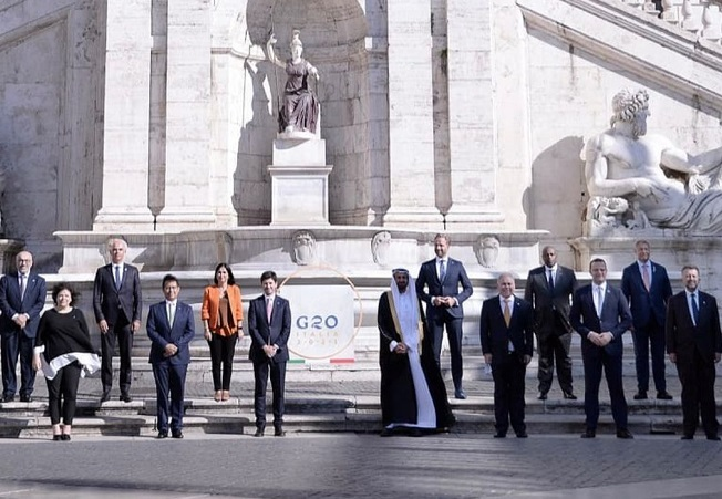 ministros salud G20